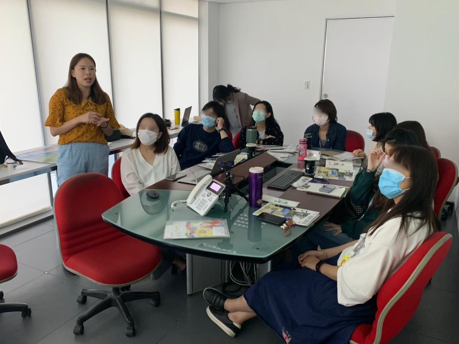 台湾旅行会社セールス、レップとして高知県の最新観光情報を商品造成担当者提供
