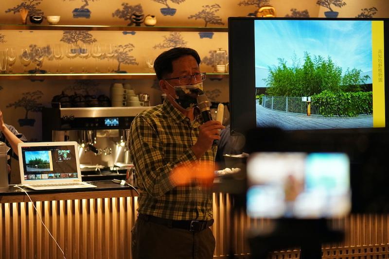 台湾蔦屋日本インバウンド観光セミナー講師中央通訊社の劉克襄会長