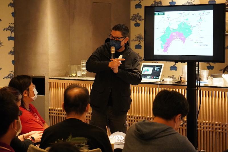 台湾蔦屋日本インバウンド観光セミナー講師「米飯旅行社(Rice Tour)」 創始者である工頭堅